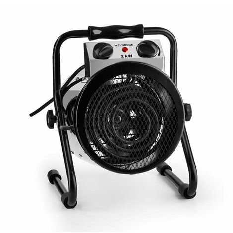 Waldbeck Strato Fan Heater Greenhouse Heater Electric Fan Heater IPX4 2000 W