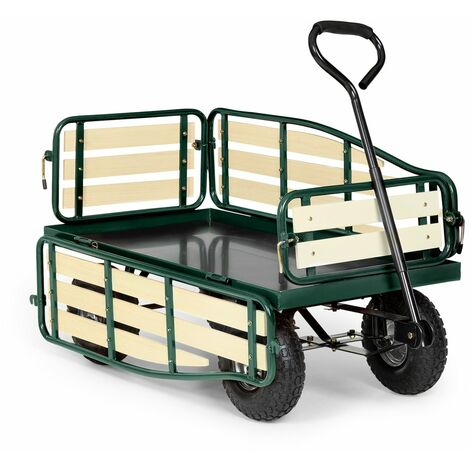 Waldbeck Ventura Chariot remorque de transport à main > 300 kg acier