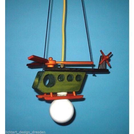 Waldi Leuchten Hubschrauber Kinderlampe Pendelleuchte 11W ESL 230V