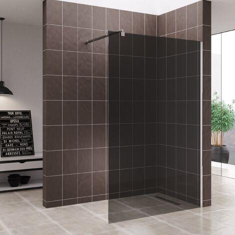 Walk In Dusche Duschwand Duschabtrennung Getönt Edelstahl 10mm WG740