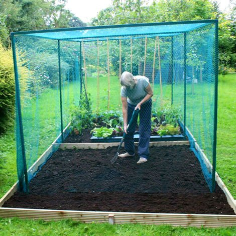 Walk In Fruit & Veg Cage with Door (Various Sizes)