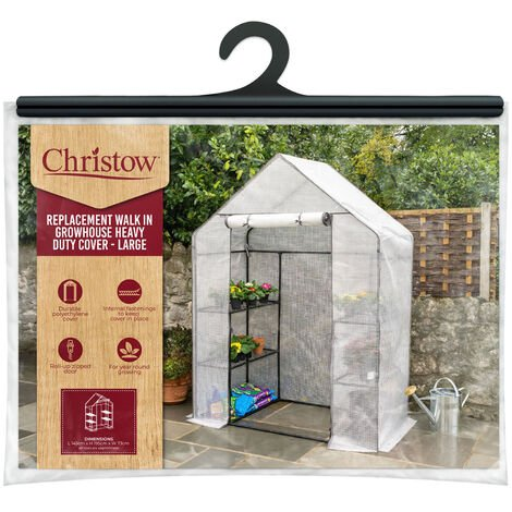 Walk-In Greenhouse Cover - Large