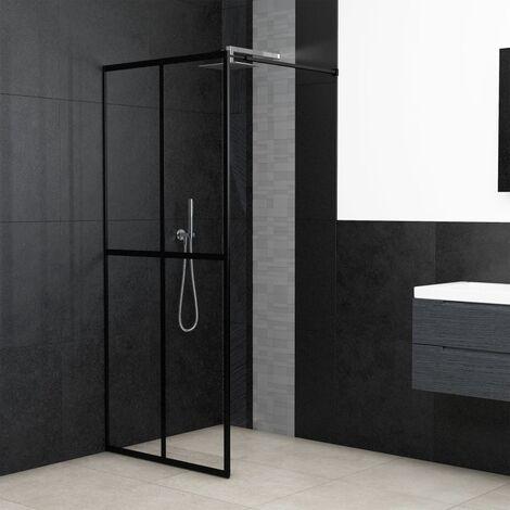 Walk-in Shower Screen Tempered Glass 100x195 cm