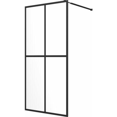 Walk-in Shower Screen Tempered Glass 140x195 cm
