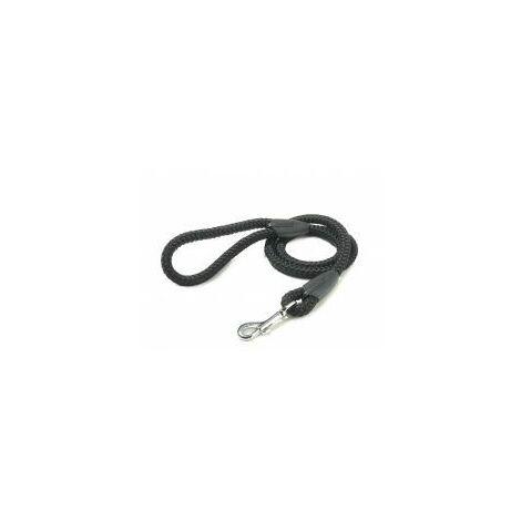 Walk 'R' Cise Nylon Rope Trigger Hook Lead - Black - 1.2x1 - 375858