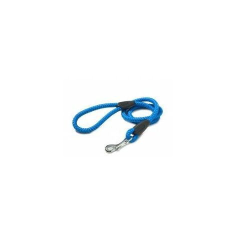 Walk 'R' Cise Nylon Rope Trigger Hook Lead - Blue 1.2X107CM - 1.2x1 - 375803