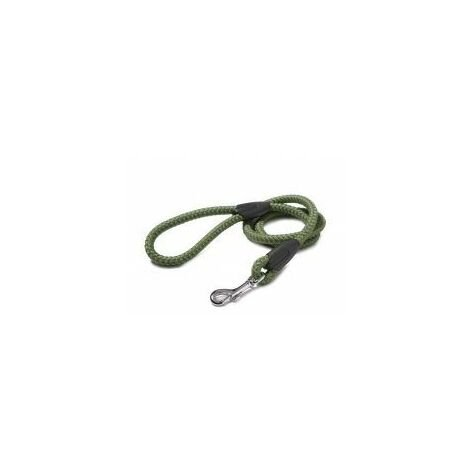 Walk 'R' Cise Nylon Rope Trigger Hook Lead - Green 1.2X107CM - 1.2x1 - 375870