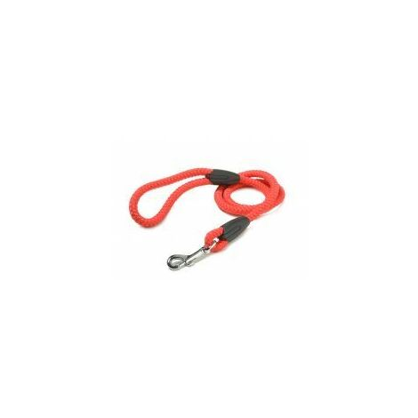 Walk 'R' Cise Nylon Rope Trigger Hook Lead - Red - 1.2x1 - 375825