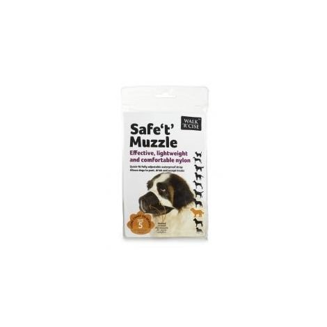 Walk ´R´ Cise Safe ´T´ Muzzle (Size 5) (May Vary)