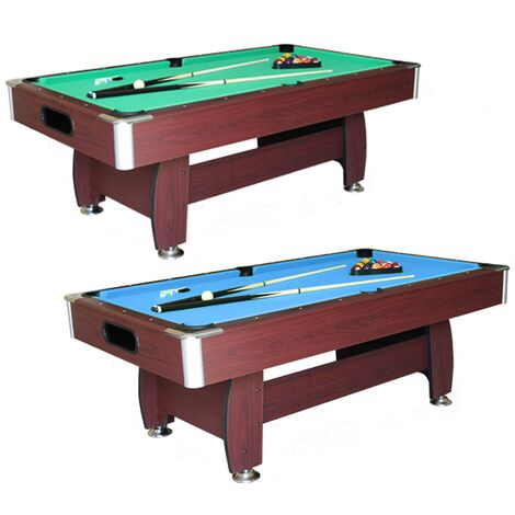 Walker and Simpson Titan 7ft Pool Table-Blue
