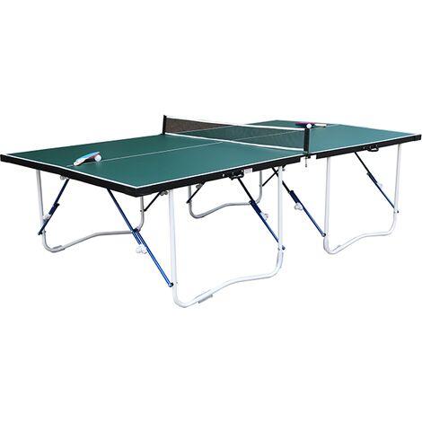 "main image of ""Walker & Simpson Flat Hit Full Size Folding Table Tennis Table – Green"""