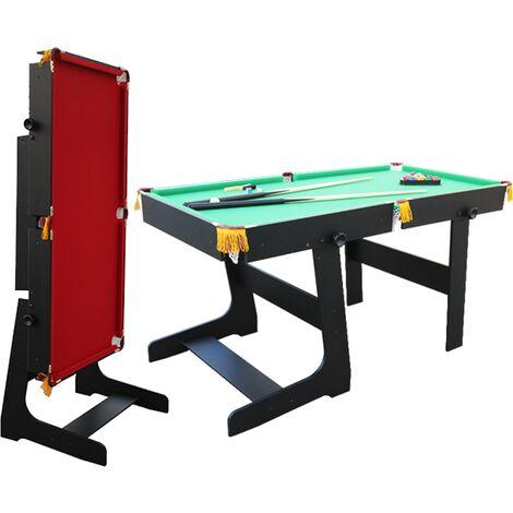 "main image of ""Walker & Simpson Premier 5ft Folding Pool Table"""