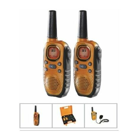 Kända Walkie Talkie Vigilancia Carga Bateria 8C 10Km Alc Topcom 2 Pz - 89138 CI-61