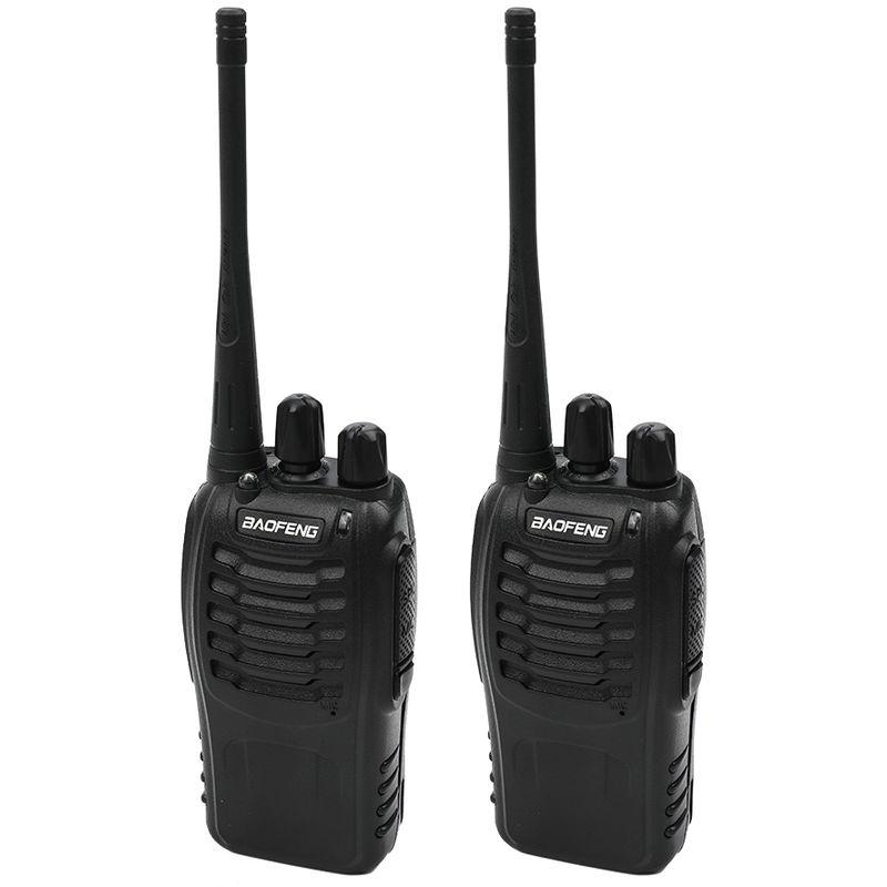 Image of Baofeng - Walkie talkie waterproof walkie talkie dual set with headset USB charging