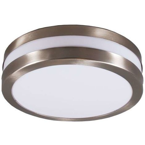 Wall and ceiling lamp stainless steel IP44 - Leeds