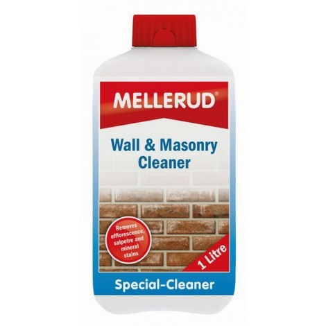 Wall and Masonry Cleaner - Clean Stains from Walls Bricks Concrete - Garage Workshop Home