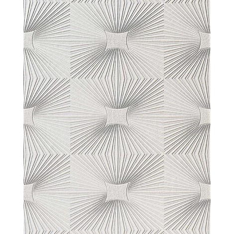 Wall ceiling wallpaper wall EDEM 115-00 decor textured vinyl white 5.33 sqm (57 sq ft)