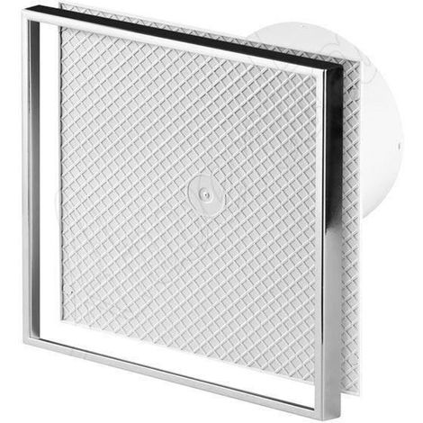Wall Ceramic Tile Bathroom Kitchen Extractor Fan 125mm Diameter with Pull Cord