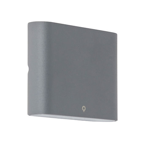 Wall lamp anthracite 11.5 cm incl. LED IP65 - Batt
