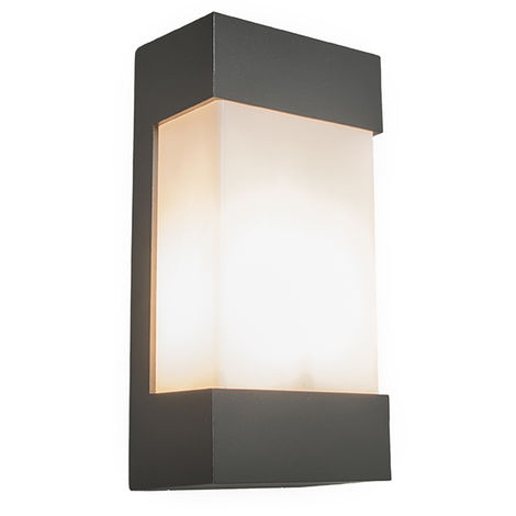Wall lamp anthracite IP54 - Tide