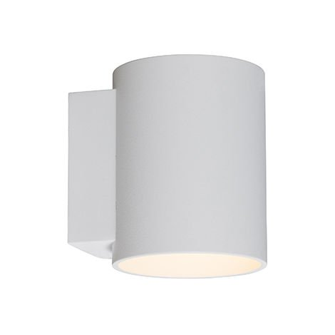 Wall lamp round white - Sola