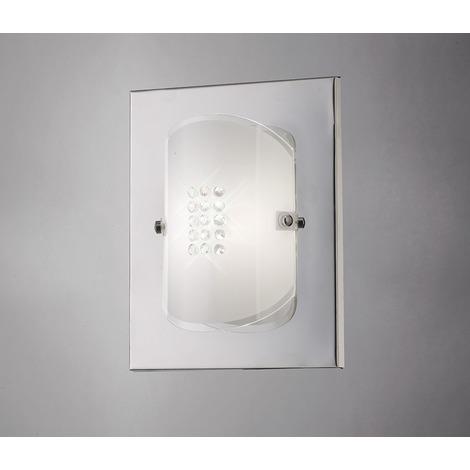 Wall Lamp Switched Single Polished Chrome Gl