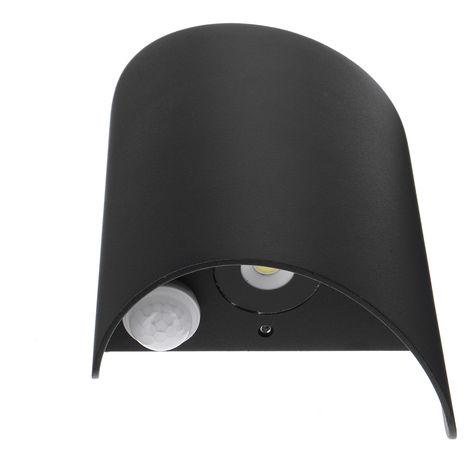 Wall light 20W LED effect lamp Solar lamp with motion sensor sensor