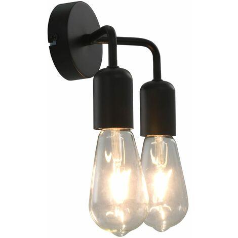 Wall Light Black E27