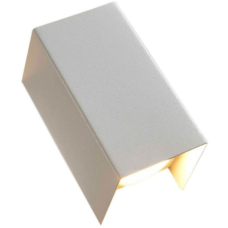 Image of 2-bulb LED wall light Jaymie, dimmable via switch - LAMPENWELT
