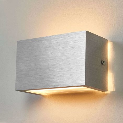 Wall Light Kimberly Modern In Silver Made Of Aluminium