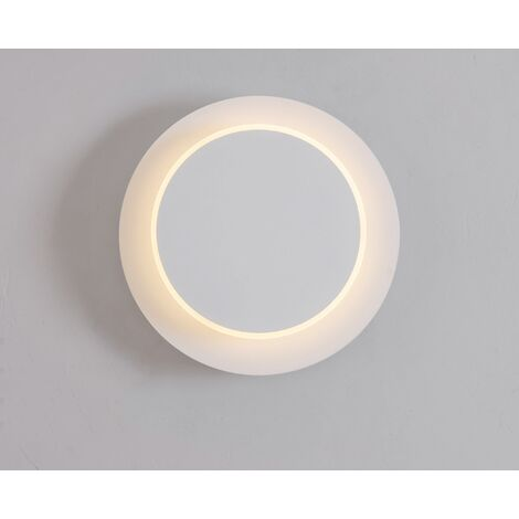 Wall light LED Wrought Iron Paint Rotary Room Chevet Lamp White Interior Decoration