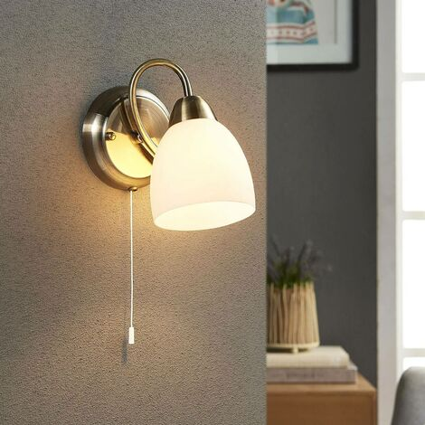 Wall light Mael with a pull switch