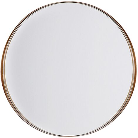 Wall Mirror ø 40 cm Copper PINEY
