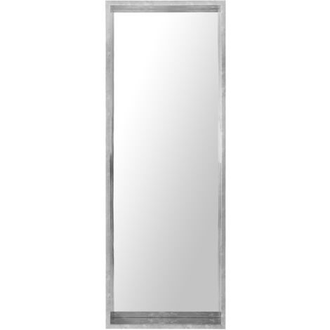 Wall Mirror 50 x 140 cm Silver OIRON