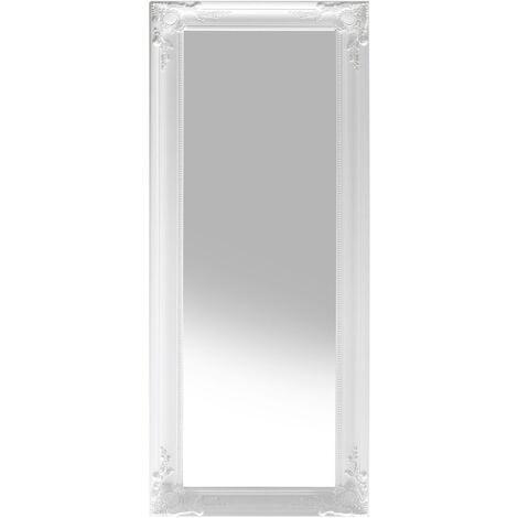 Wall Mirror 51 x 141 cm White VARS