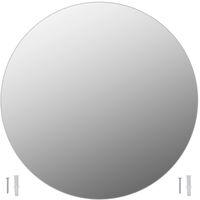 Wall Mirror 60 cm Round Glass
