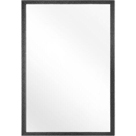 Wall Mirror 60 x 90 cm Black MORLAIX