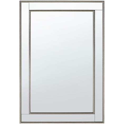 Wall Mirror 60 x 90 cm Gold with SIlver FENIOUX