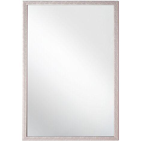 Wall Mirror 60 x 90 cm Pink MORLAIX