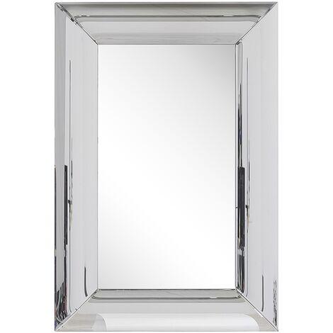 Wall Mirror 60 x 90 cm Silver BODILIS
