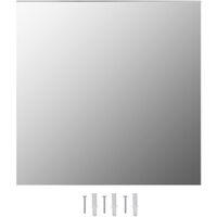 Wall Mirror 60x60 cm Square Glass