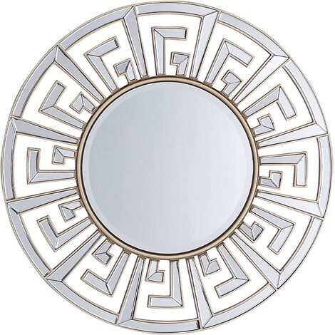 Wall Mirror ø70 cm Gold FLERS