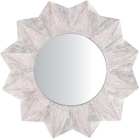 Wall Mirror ø 72 cm Gold AVADI