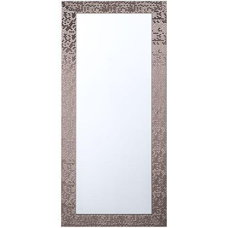 Wall Mirror Brown 50 x 130 cm MARANS