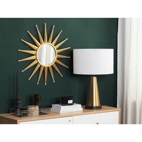 Wall Mirror Gold ø60 cm PERELLI