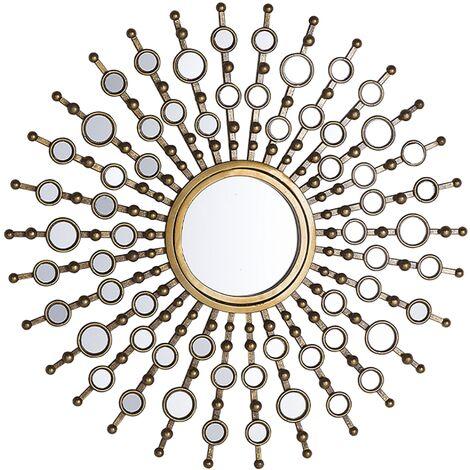 Wall Mirror Gold ø70 cm BLOIS