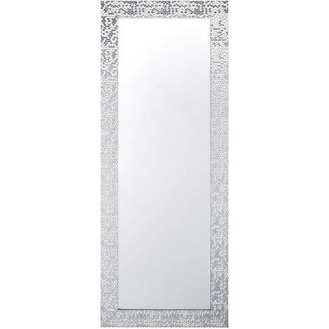 Wall Mirror Silver 50 x 130 cm MARANS