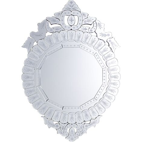 Wall Mirror Silver 67 x 100 cm CRAON
