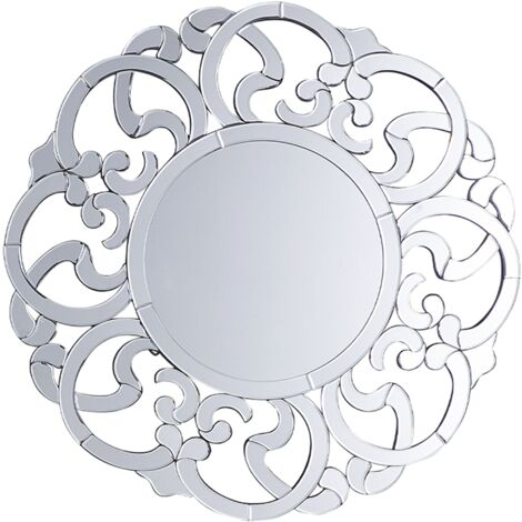Wall Mirror Silver ø70 cm MORNAIX