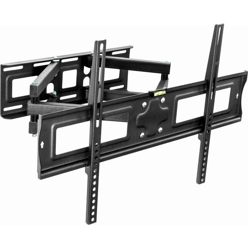 No_brand - TV wall mount for 32-65? (81-165 cm) can be tilted and swivelled - bracket TV, wall tv mount, tv on wall bracket - black